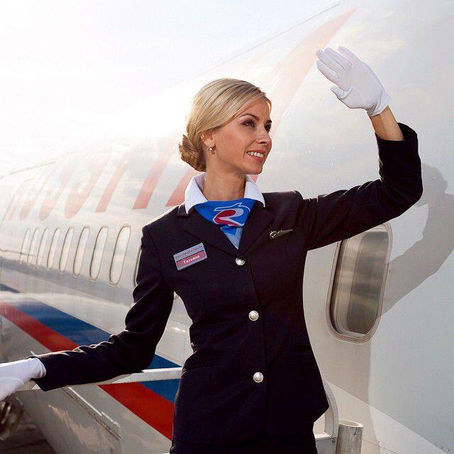 Голос стюардессы