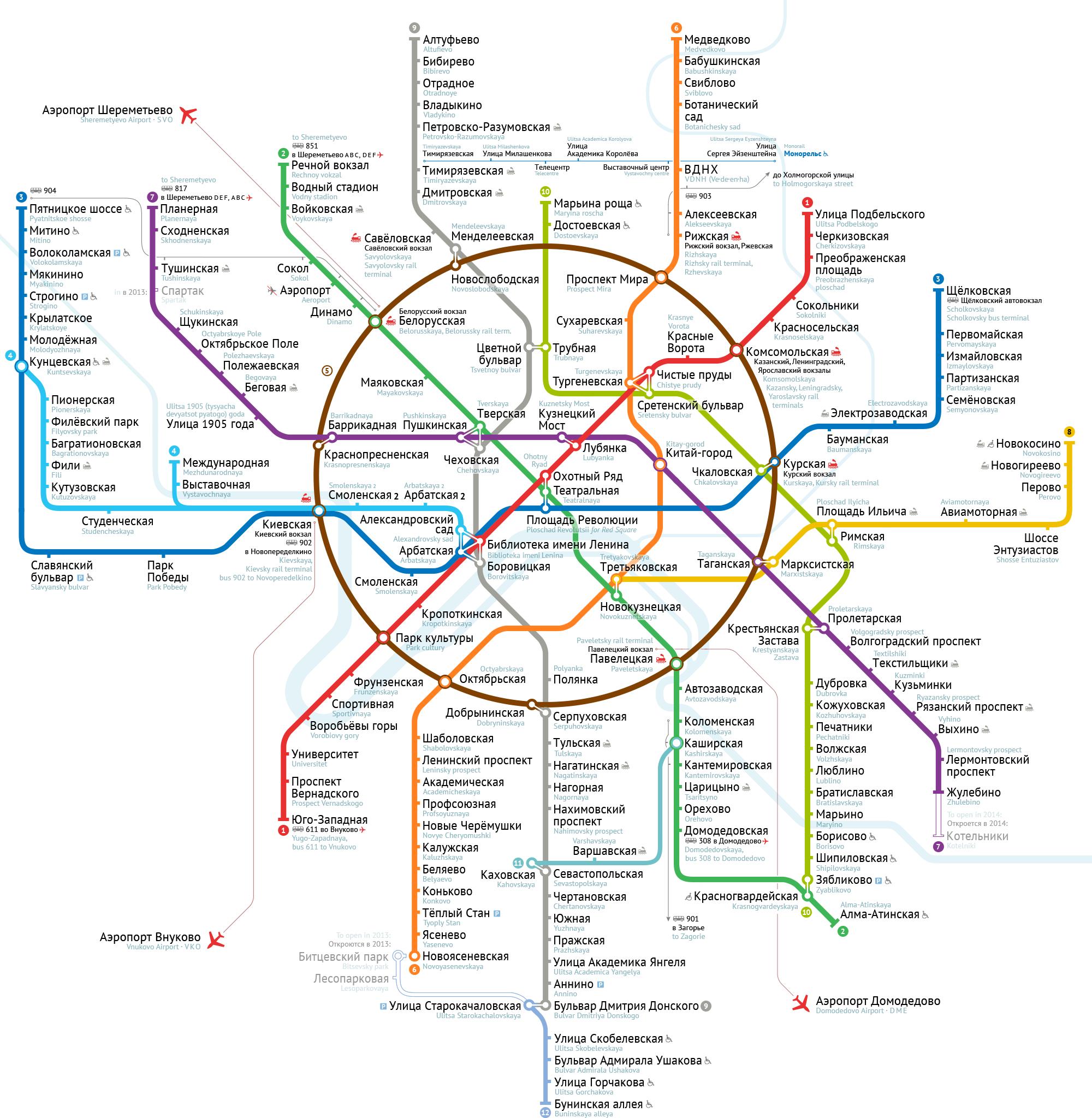 Звуковой аудиоролик для метро